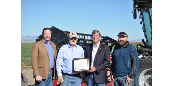 Tipton honored with Friend of FB