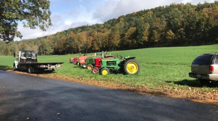 Tractor ride celebrates agricultural heritage