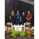 Michigan Junior Dairy Management contestants Hayley Wineland, Kaylee Kriser, Jennifer VanLieu and Jonah Haskins. (Courtesy of Michigan State ANR)