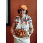 Ronna Farley of Rockville, Maryland, won the 2017 National Festival of Breads with her Seeded Corn and Onion Bubble Loaf. (Courtesy of Kansas Wheat)