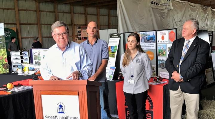 Seward drives state funding for farm safety program