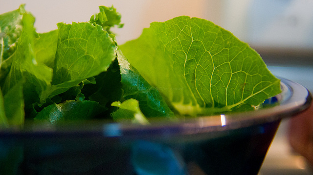Officials give OK to eat some romaine