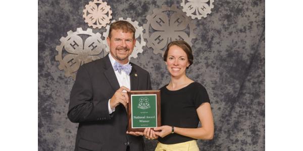 Tami Mosie receives Distinguished Service Award