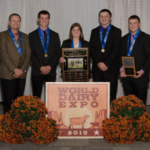 L-R: Mike Marean, Brian McCullough, Rachel McCullough, Cole Mahlkuch, Clayton Mahlkuch. (Courtesy of UW-Extension)