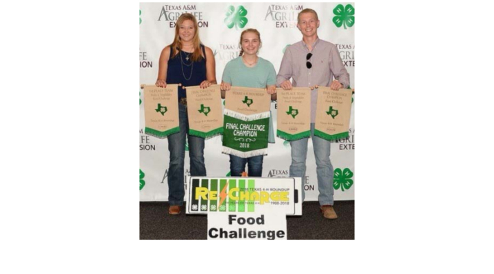 Team takes 1st in National 4-H Food Challenge