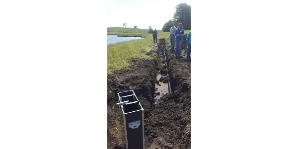 Design of drainage workshop
