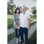 Sherri and Randy Dugger, owners of Shelby County's Dugger Family Farm, have been awarded the Sustainable Agriculture Advocate of the Year award by the Hoosier Environmental Council. (Courtesy of Hoosier Environmental Council)
