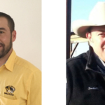 Dr. Eric Bailey (left), state beef extension specialist with the University of Missouri, will moderate a panel of nationally known experts that will tell how to prepare cattle for sale to capture more value. Corbitt Wall (right), of DVAuction, headlines the panel stacked with years of cattle marketing and animal health expertise. (Courtesy of University of Missouri Extension)