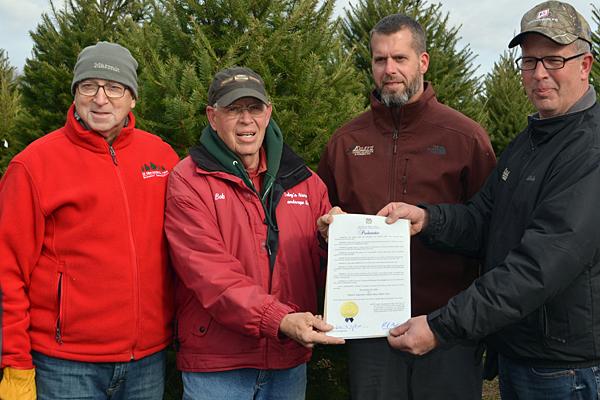Fisher highlights choose and cut Xmas tree season