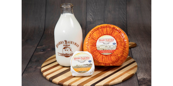 Hoard's Dairyman magazine, the only U.S. agricultural publisher with its own operating dairy farm, is now producing high-quality specialty cheese using milk exclusively from the historic Guernsey herd. (Courtesy of Hoard's Dairyman)
