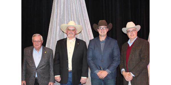 Five honored for 50 years of KLA membership