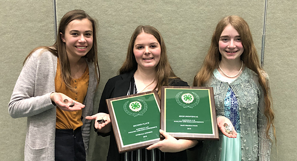 Bucks 4-H Poultry Judging competes at Nationals
