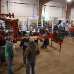 Growers can get the latest research updates for soybeans, as well as view machinery and commercial exhibits, at the Nebraska Soybean Day and Machinery Expo on Dec. 13 in Wahoo. (Courtesy of UNL)