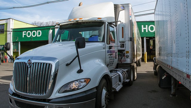 Instead of dumping rejected food shipments into landfills, truckers are donating them to local charities