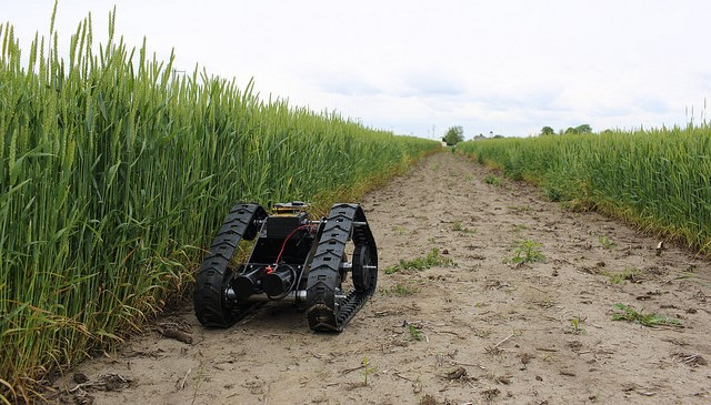 Robots in the field: Farms embrace technology