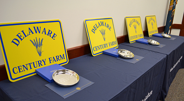 4 Del. farm families mark 100 years of ownership