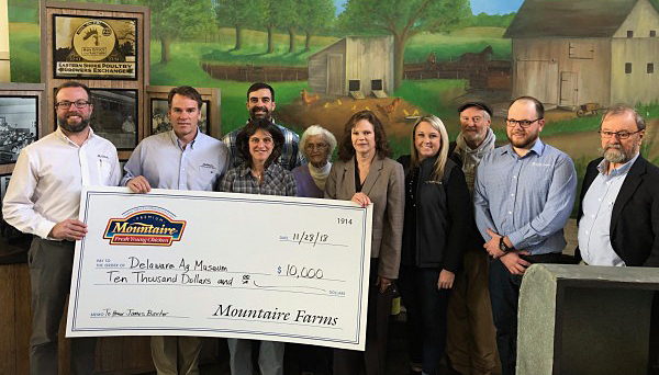 Mountaire Farms donation a boost to ag museum