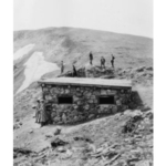 The Fall River Road shelter house where Allison experimented with high-altitude baking. (Courtesy of CSU)