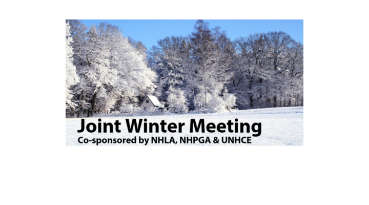 NHLA, NHPGA & UNHCE Joint Winter Meeting
