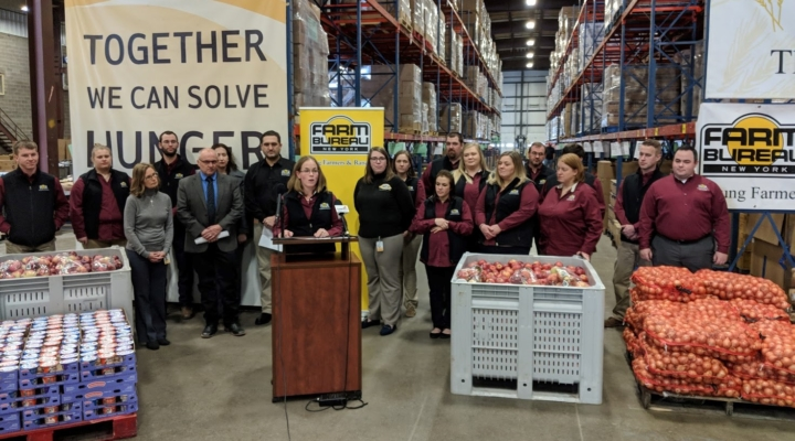 NY farmers donate nearly 11 million pounds of food