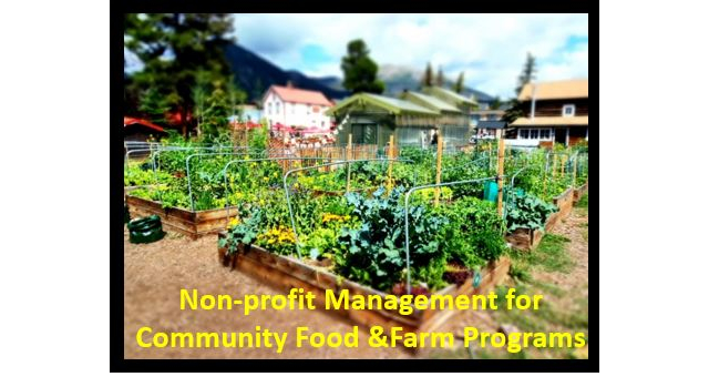 New online class for managers of non-profits
