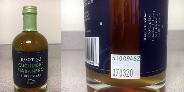 ROOT 23 proactively recalls batch of syrup