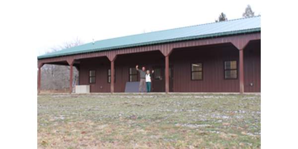 New building dedicated at 4-H Memorial Camp