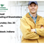 The Annual Meeting of Shareholders for Ceres Solutions Cooperative will be held on Thursday, December 20, 2018, in Wabash, Indiana. (Courtesy of Ceres Solutions)