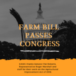 Kansas wheat farmers thank Congress for passing the 2018 Farm Bill and urge President Trump to sign the Farm Bill into law as soon as possible. (Courtesy of Kansas Wheat)