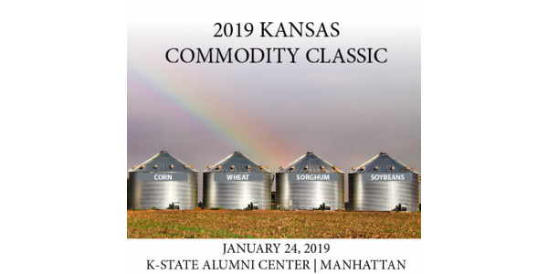 All Kansas farmers are invited to the Kansas Commodity Classic on Thursday, January 24, 2019. (Courtesy of Kansas Wheat)