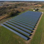 Harvest Energy Solutions solar system installed at Harvest Energy Lenawee in Lenawee County, MI. (Courtesy of Harvest Energy Solutions)