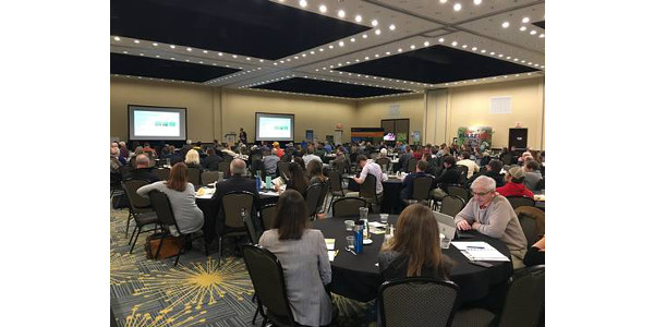Midwest Cover Crops Council meeting participants learn about cover crops at last year's annual meeting in Fargo, North Dakota. (Courtesy of MSU Extension)