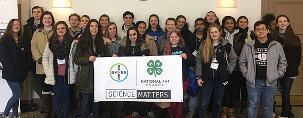 4-H members attend National Agri-Science Summit