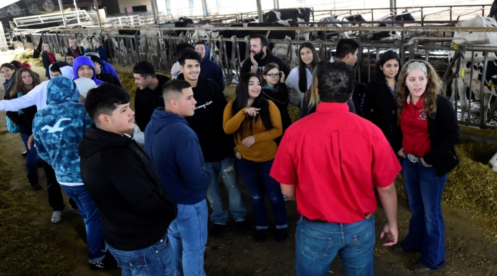 Students learn about careers in ag