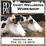 Two repeating sessions of the Dairy Wellbeing Workshop will be held on Feb. 12 and 13, 2019, at the Tundra Lodge Resort Waterpark & Conference Center in Green Bay, Wis. The sessions will run from 8:30 a.m. to 3:30 p.m. each day. (Courtesy of PDPW)