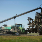 Nutrient Management with Tractor, manure pump