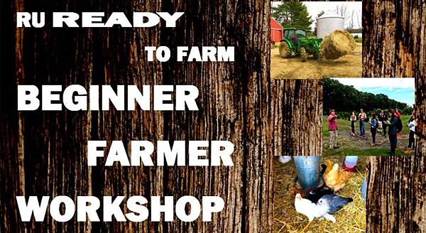 Beginner Farmer Workshop at N.J. Ag Convention