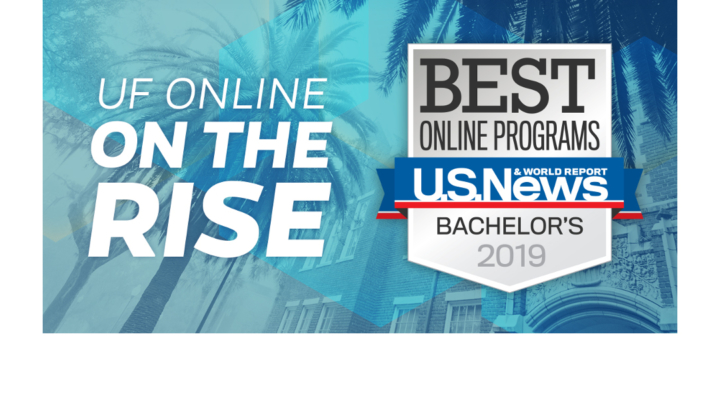 UF Online rises to fifth in the nation