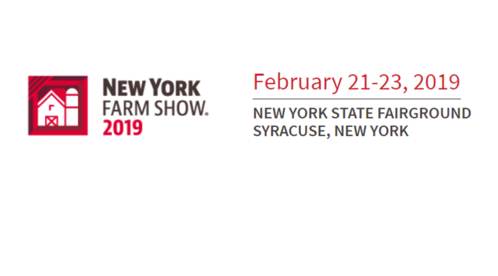 It's show time! 34th Annual New York Farm Show