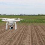 Michigan State University Extensionis currently exploring drone-based remote sensing tools for nitrogen management. (Courtesy of Michigan State University Extension)