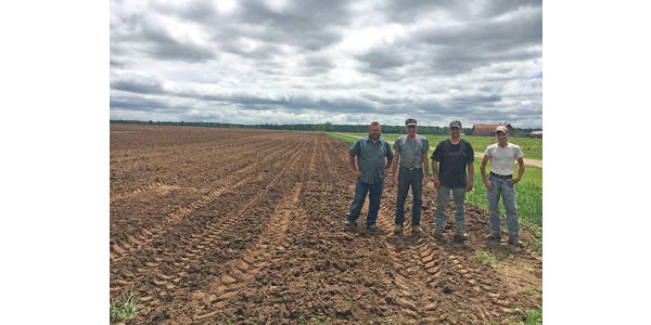 For 2018, the Upper Peninsula trial location was at Verbrigghe TJJ Farms in Cornell, Michigan. (Photo by Monica Jean, MSU Extension)