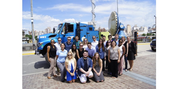 CSU students learn storm-sampling from pros