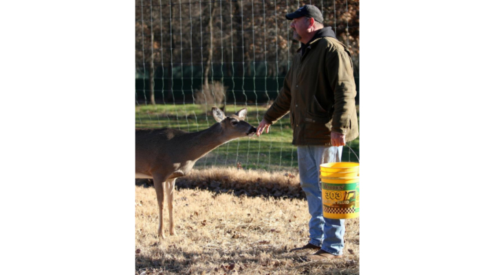 Legislative leader establishes deer preserve