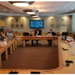 In an effort to better support members and provide high quality services to them, a group of CFB leaders gathered to discuss this new initiative and brainstorm ways to improve. (Courtesy of Colorado Farm Bureau)