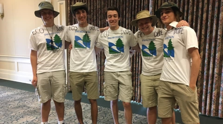 Envirothon competition results