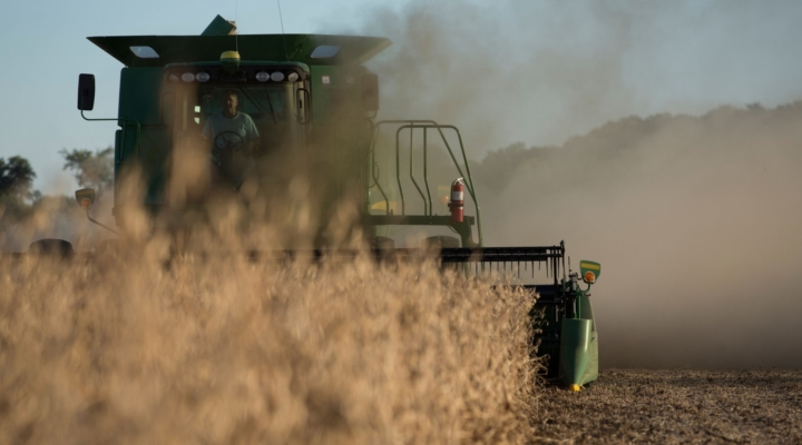 A hill of beans: Soybeans upstage trade talks