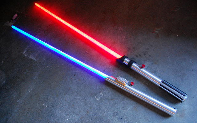 Dozens of real-life Jedis are finding mental relief and mindfulness through lightsaber classes