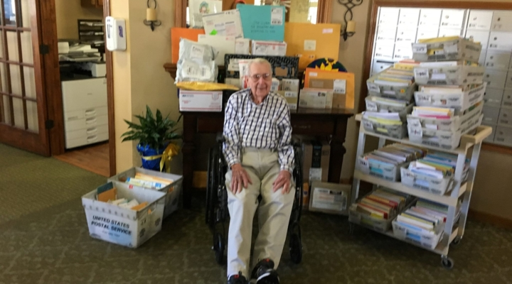 GI Joe receives thousands of cards, gifts following viral post