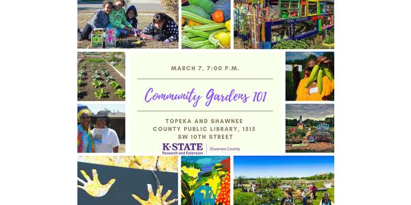 Community Gardens 101 Feb. 21