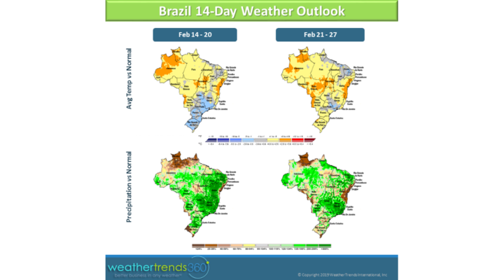 Brazil soybean estimates have been lowered